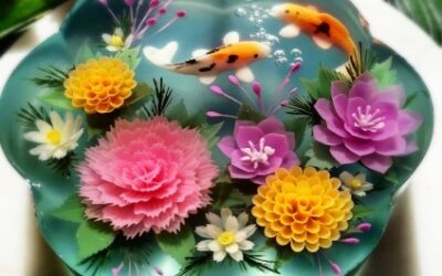 ¿Qué son las increíbles gelatinas decoradas 3D?